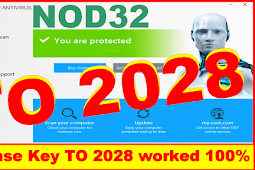 Eset Nod32 Antivirus License Key worked 100%