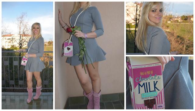 outfit grigio come abbinare il grigio maxi felpa grigia gray outfit how to wear gray mariafelicia magno fashion blogger outfit gennaio 2017 blogger outfits blog di moda italiani blogger italiane di moda
