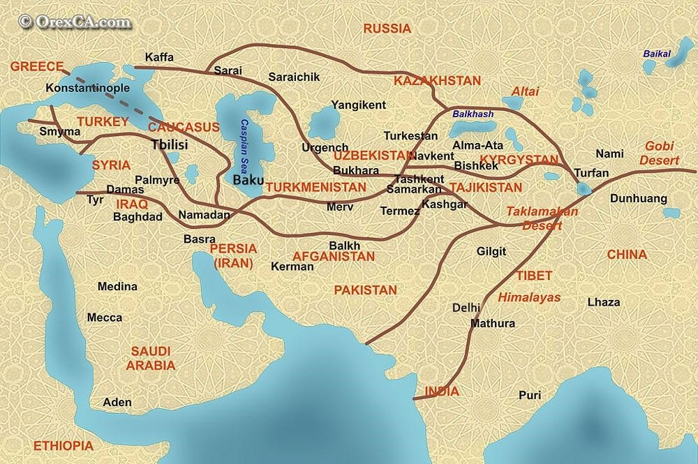 Silk roads (China)