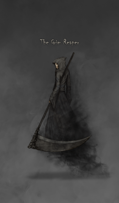 The Grim Reaper (black)