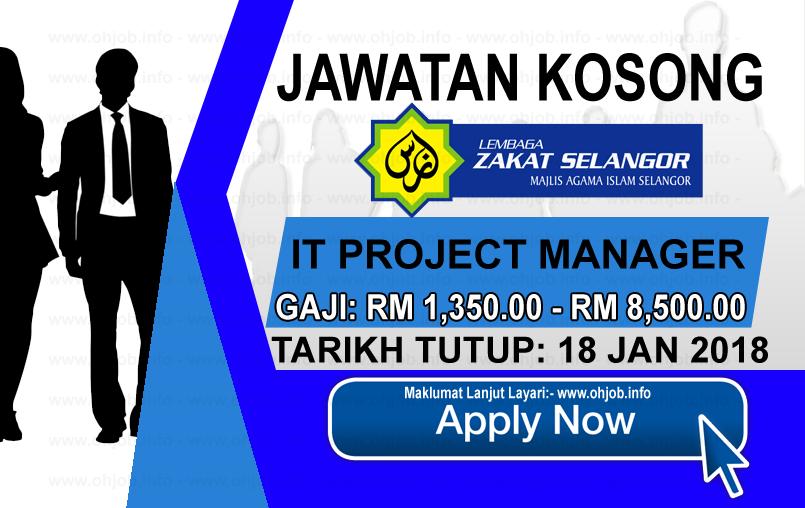 Jawatan Kerja Kosong Lembaga Zakat Selangor - MAIS logo www.ohjob.info januari 2018