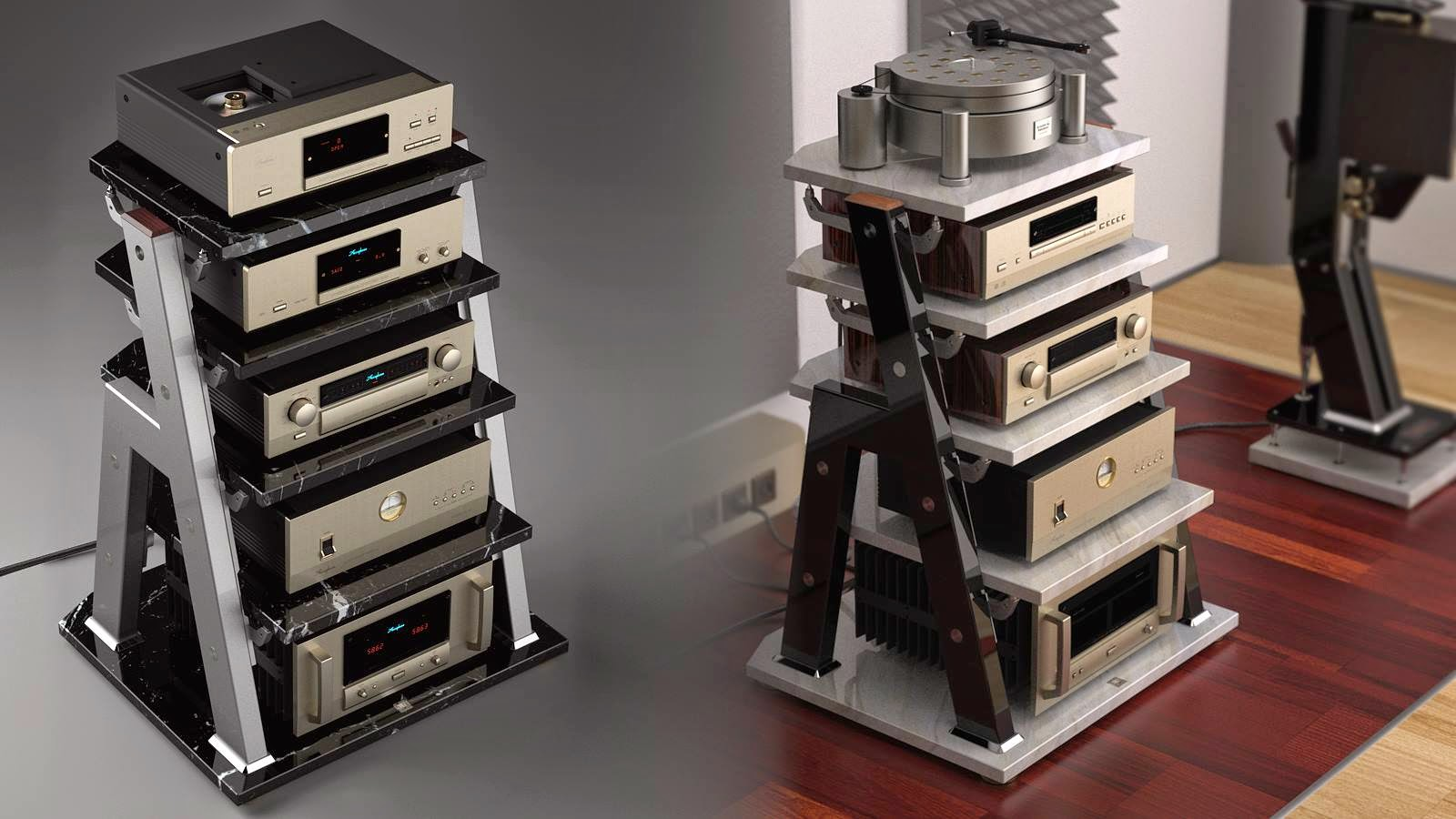 isolation hi decoration audio ideas and furniture racks stylist custom wonderful rack stereo end