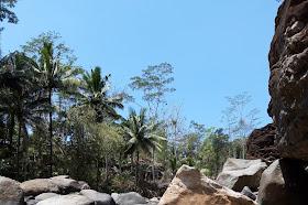 Menikmati keindahan sungai Konang di desa Pandean Trenggalek