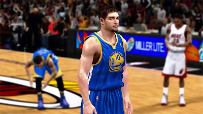 NBA 2K13 David Lee Golden State Warriors Player Update