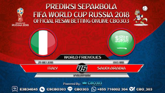 Prediksi Bola Italy VS Saudi Arabia 29 Mei 2018