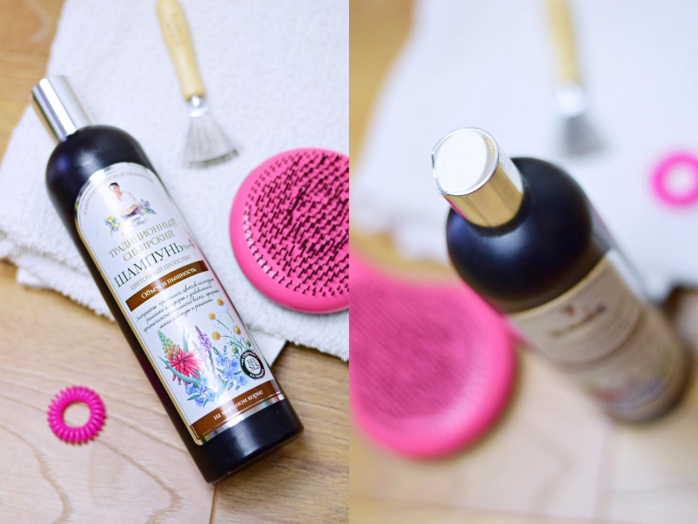 tradycyjny szampon syberyjski 4 objętość i blask włosy