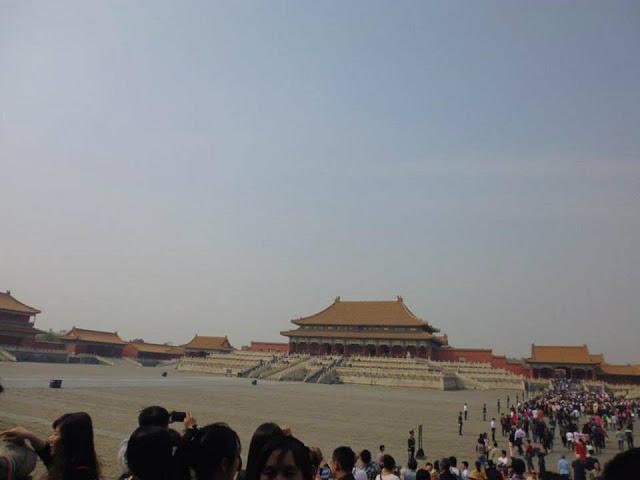 Patio Exterior de la Ciudad Prohibida (Beijing) (@mibaulviajero)