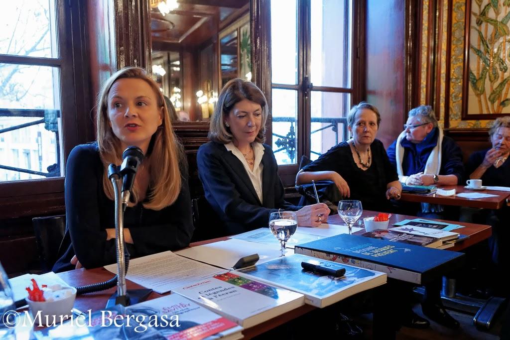 Carole Aurouet, Béatrice Marchal, Colette Klein, © Muriel Bergasa