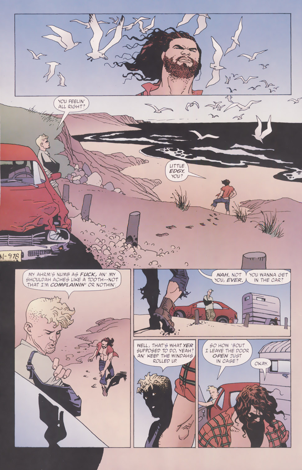 Read online 100 Bullets comic -  Issue #49 - 17