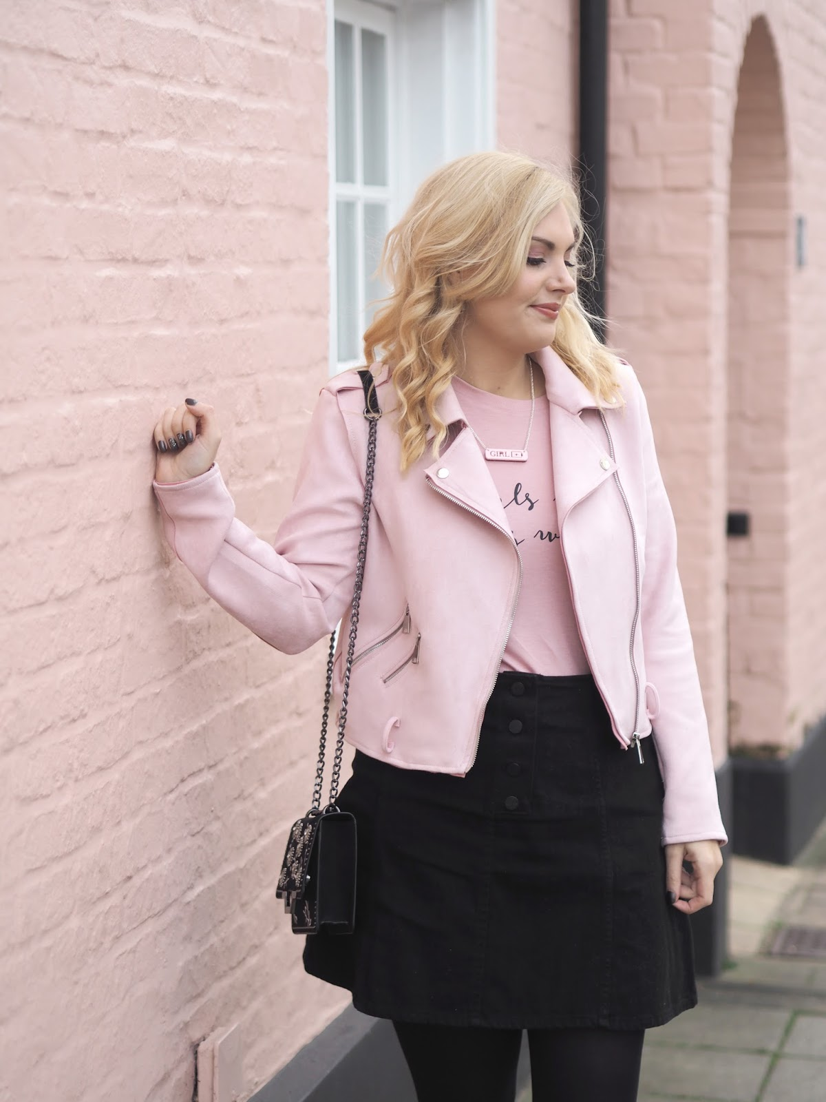Girls Rule This World: Outfit, Katie Kirk Loves, UK Blogger, Fashion Blogger, Style Blogger, Outfit Post, Pink Fashion, Pink Outfit, Pink Style, Street Sryle Fashion, Pink House, Handmade Jewellery, Etsy Jewellery Etsy Shop, Christmas Gift Ideas, Girl Power Outfit, Outfit Of The Day, Style Influencer, Fashion Influencer