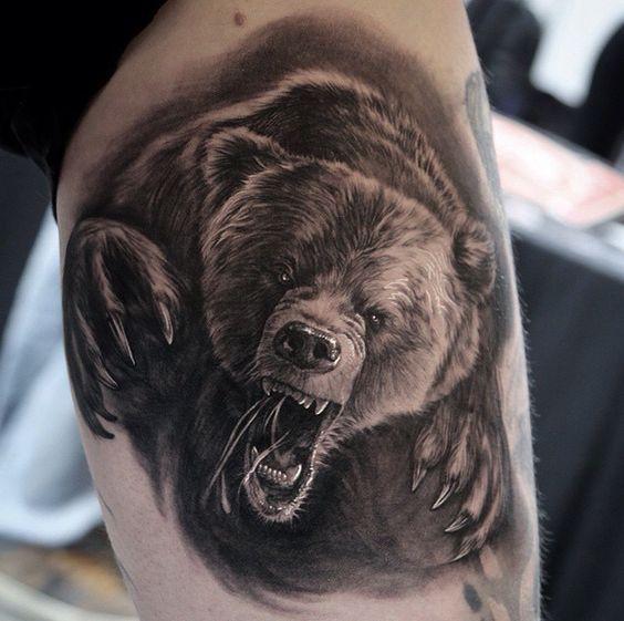 tatuajes de osos y su significado