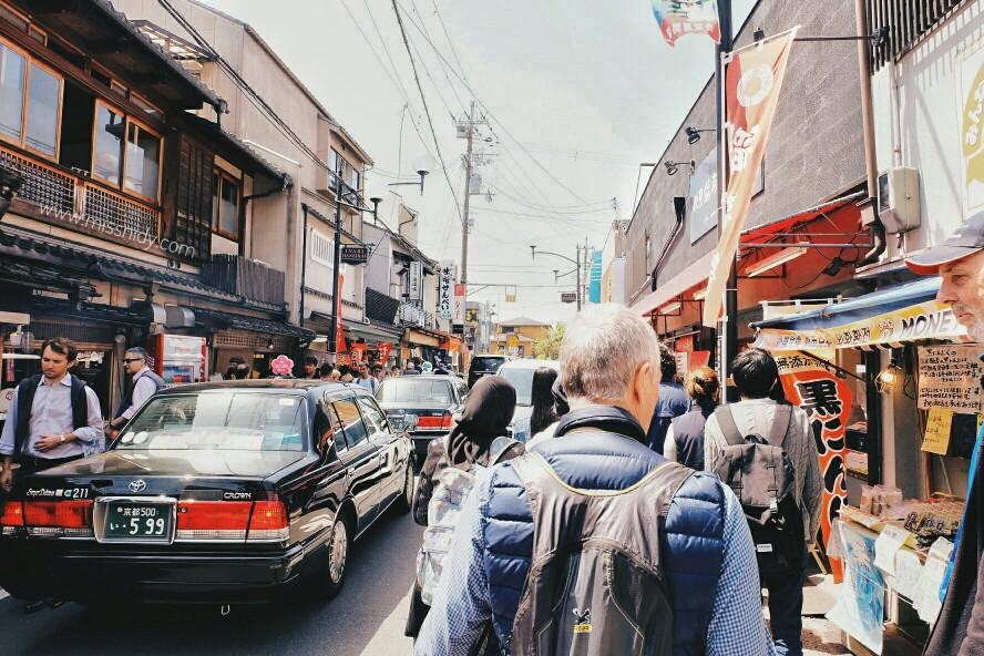 jalan-jalan di kyoto