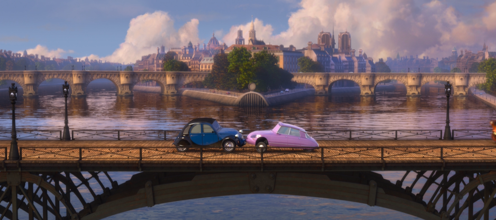 cars 2 john and nancy scene