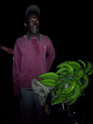 Married Man Caught Stealing Plantain Arrested by the Police In Akwa Ibom (see photos)