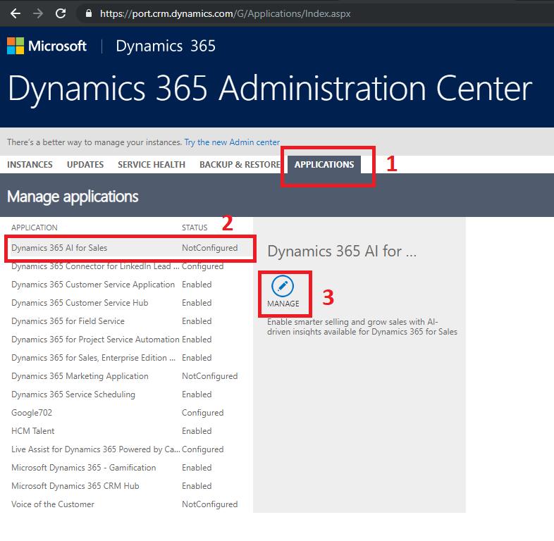 Sam's MS Dynamics 365 Blog: Configure Dynamics 365 AI for Sales