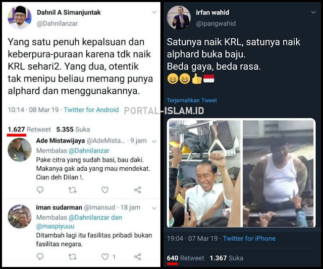TKN Bandingkan Foto Jokowi dan Prabowo, Dahnil: Yang 1 Penuh Kepalsuan, Yang 2 Otentik tak Menipu