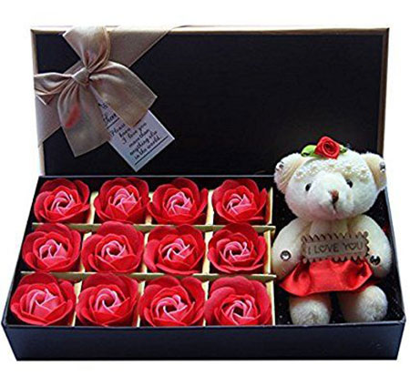 gift her a box containing below things - Gifts For Her Valentines Day