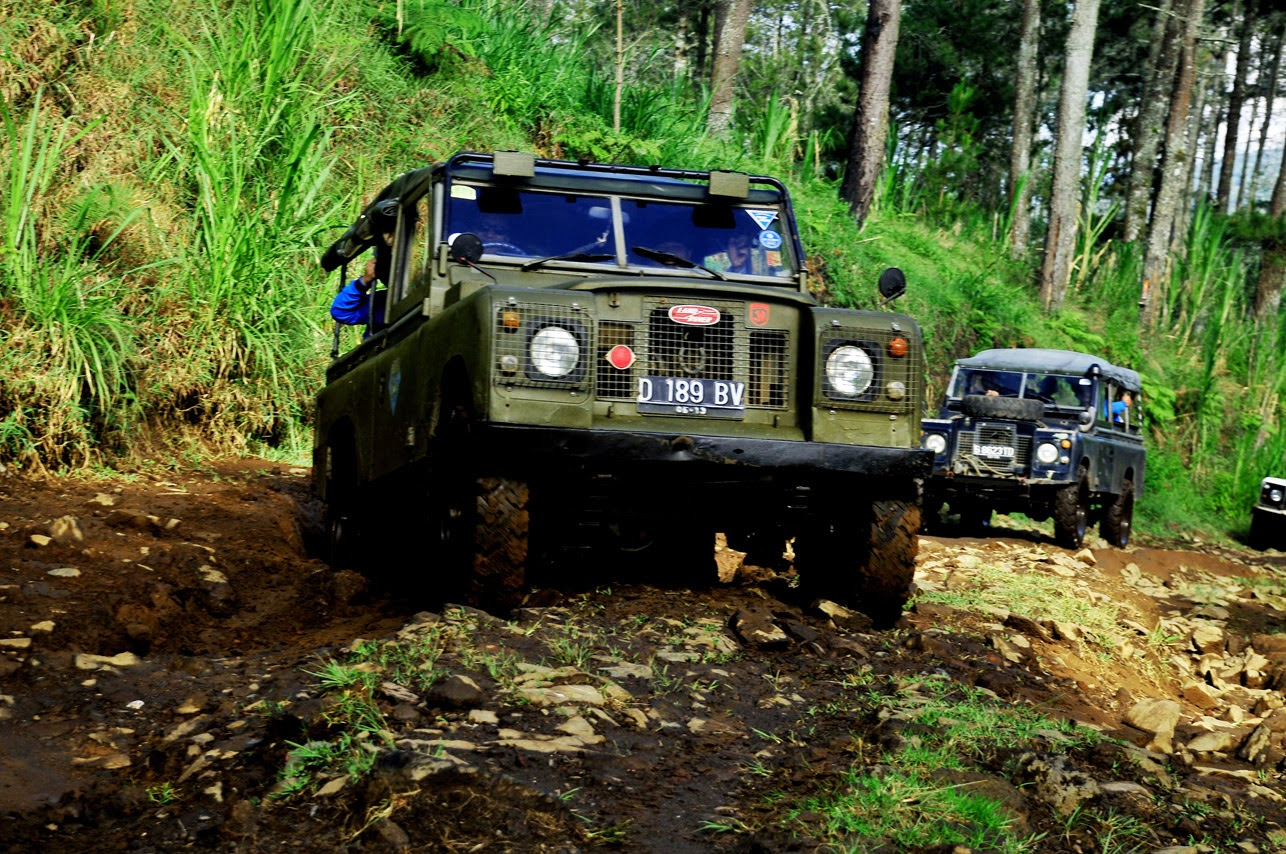 Paket Offroad Outbound di Bandung