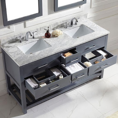 modern bathroom towel storage furniture ideas sink vanity design