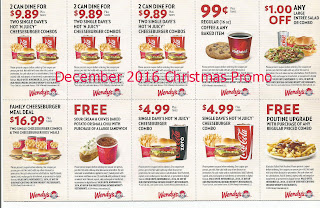 Wendys coupons for december 2016