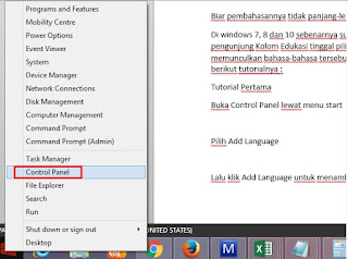cara menambahkan font arabic laptop