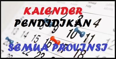 Kalender Pendidikan 2019/2020 PAUD, SD, SMP, SMA, SMK