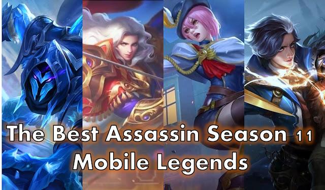 4 Assassin Terbaik Di Season 11 Mobile Legends