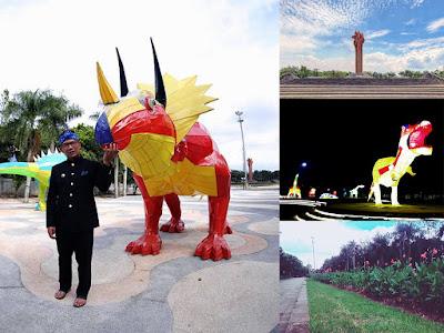 Foto terbaru lapangan Tegallega Bandung