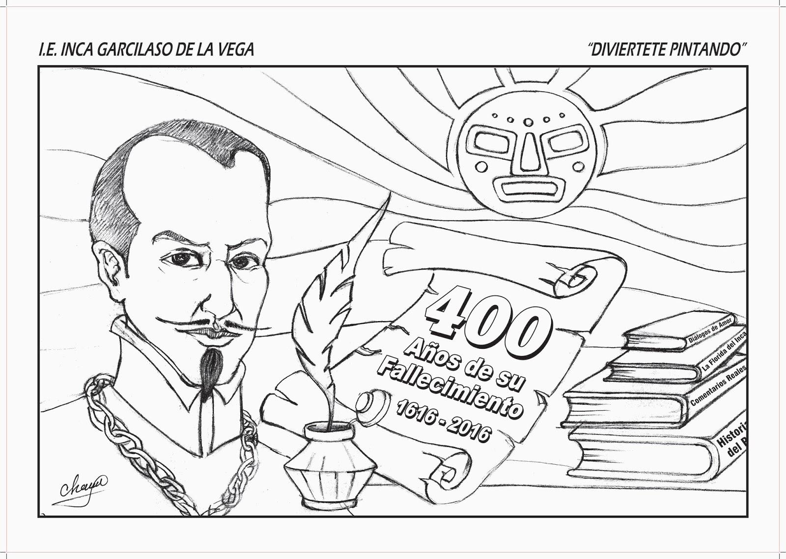 Arte y las tics Roxany Salinas Villanueva: Inca Garcilaso de la Vega ...