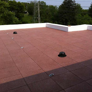 Greatmats Sterling Rooftop Tile installed