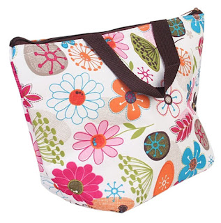 Insulated Lunch Cooler Tote As...