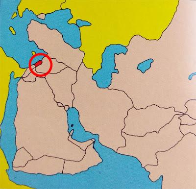Gambar Peta letak negara Libanon