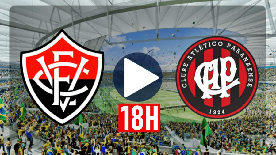 Assistir Vitória x Atlético-PR ao vivo HD pelo Campeonato Brasileiro as 18h 1
