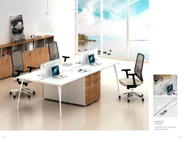 best white maple modern office furniture systems design ideas