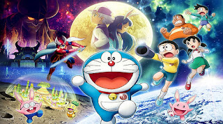 Download Doraemon: Nobita's Chronicle of the Moon Exploration (2019) (Japan Movie)