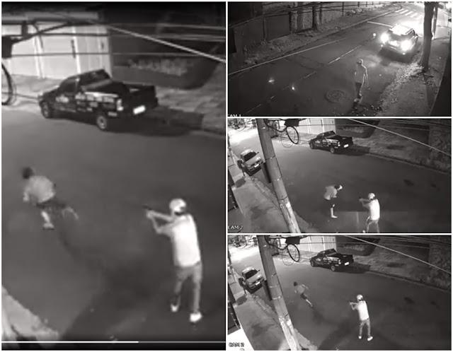 Resultado de imagem para VÍDEO: Homem em carro de luxo mata morador de rua a tiros em Santo André (SP)