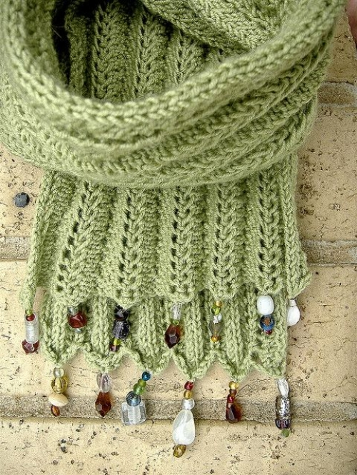 Beautiful Knitting Scarf