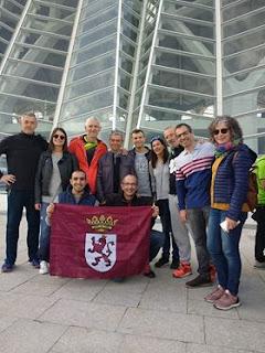 Corredores Leoneses en el maratón de Valencia