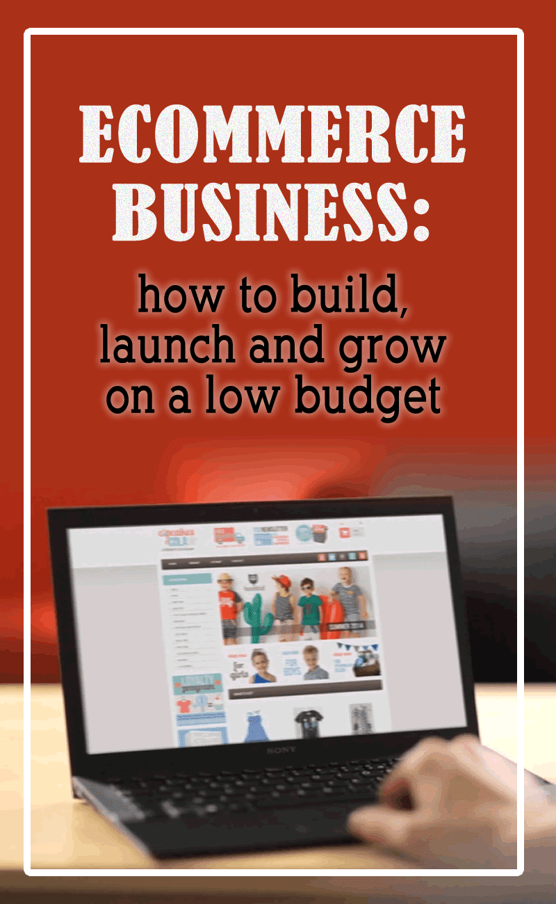 How To Successfully Build, Launch And Grow Your Ecommerce Business On A Low Budget