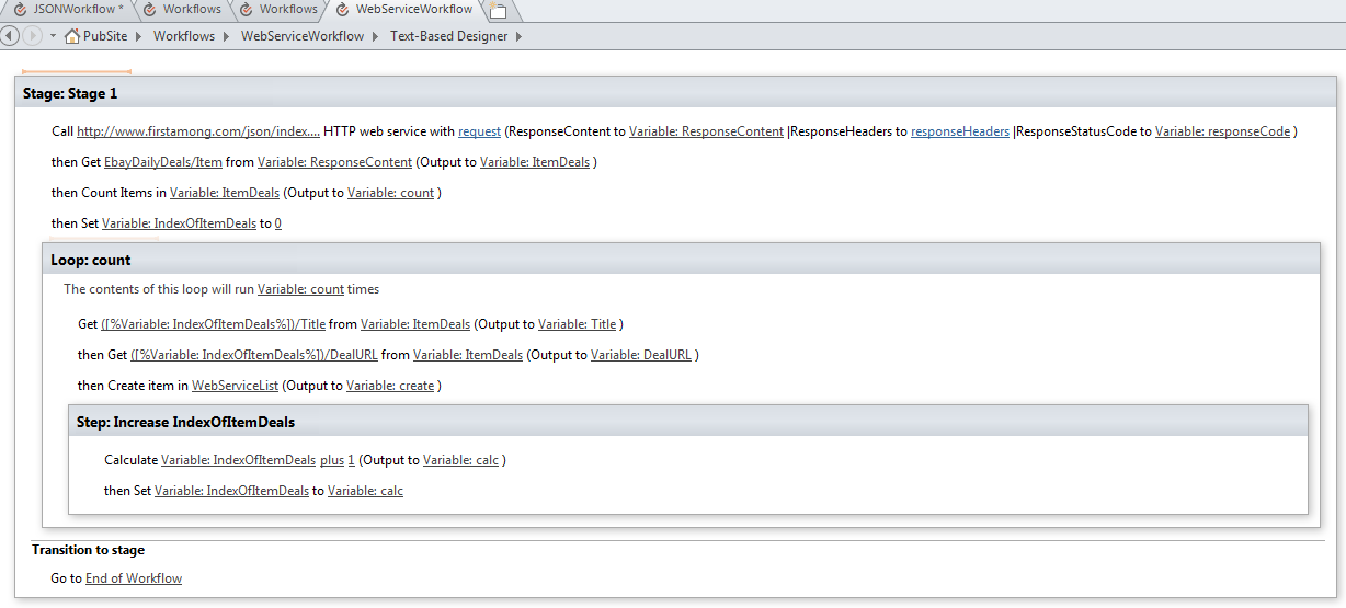 Sharepoint Designer 2013 Workflow Action Call Http Web Service Sharepoint And Project Server Shenanigans