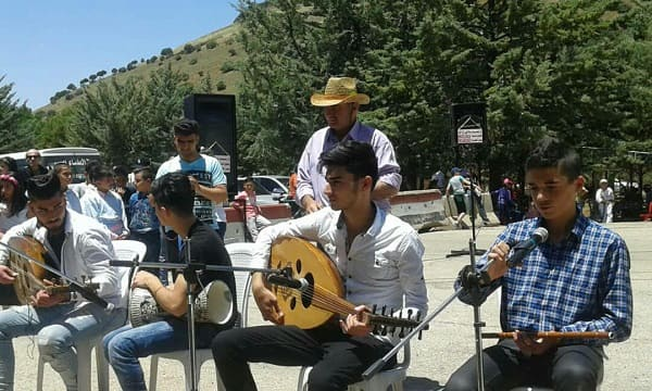 فعاليات متنوعة ضمن مهرجان الربيع الثالث في بلدة الكفر بالسويداء