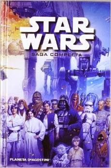 Comic Star Wars saga completa
