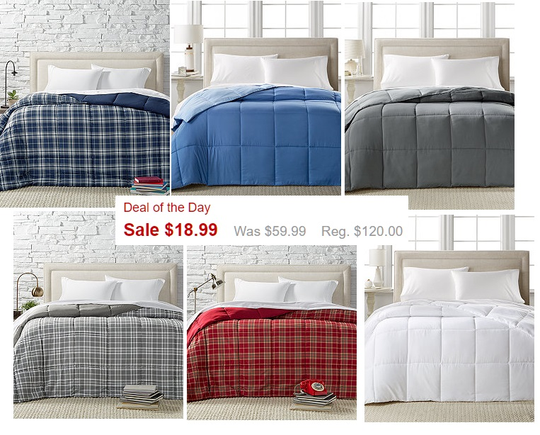 Home design down alternative comforter available for all bed sizes heavenly steals for Home design alternative comforter