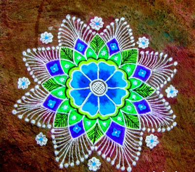 simple rangoli kolam collection