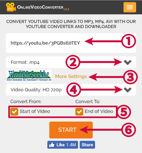 Online-video-converter-website