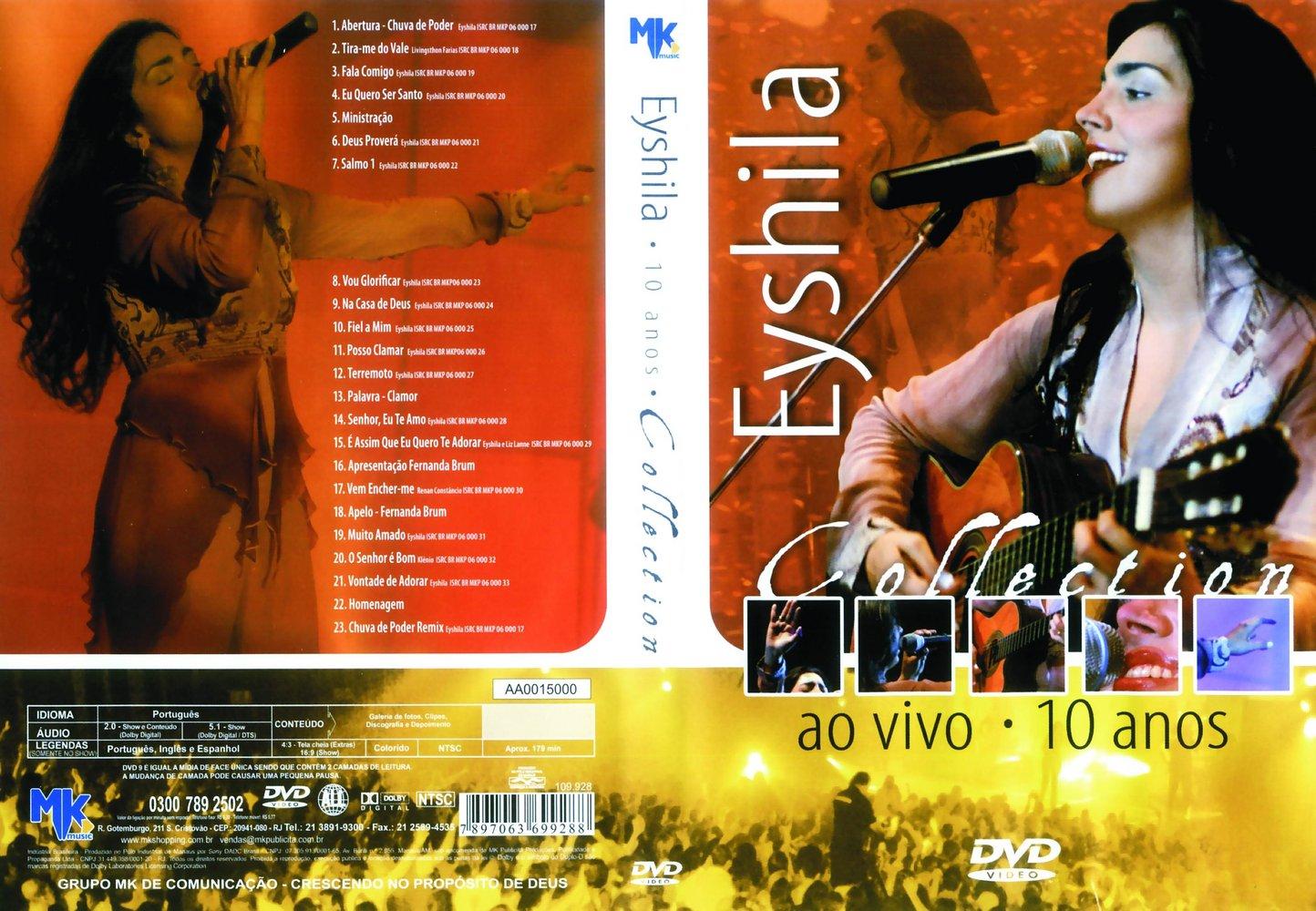 dvd eyshila 2009
