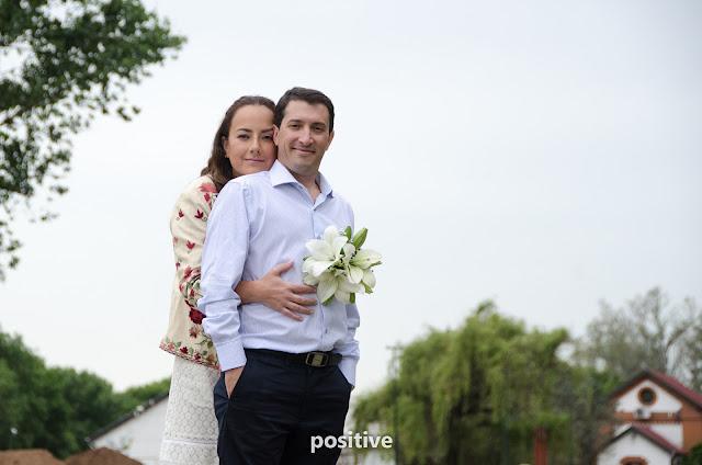 Pareja de recien casados en Roldán