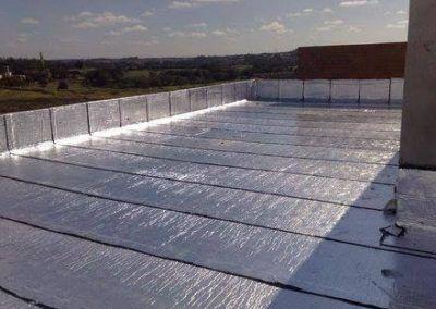Serviços de Impermeabilização com manta asfáltica