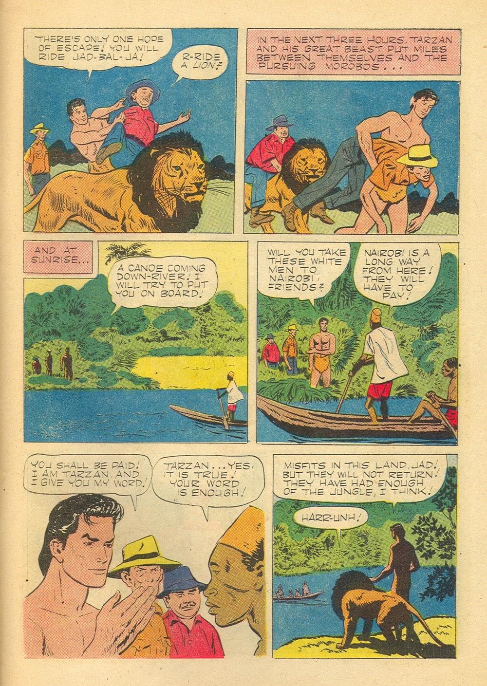 Tarzan (1948) issue 75 - Page 27