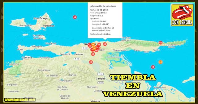 10 sismos se sintieron en Sucre durante este 16 de enero